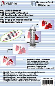 Carte De Visite Pellicules Plastification