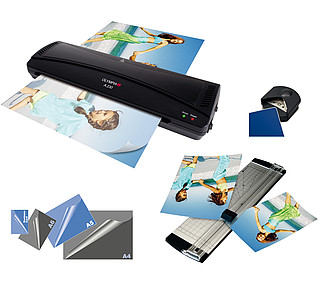 4 in 1 set with laminator A 230