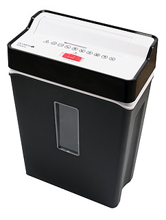 Home paper and data media shredders