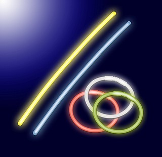 Neon Glow Sticks 10er Set FLS 30221
