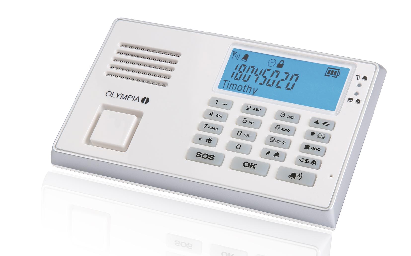 Olympia Protect 9035 GSM mit der neuen Fernbedienung