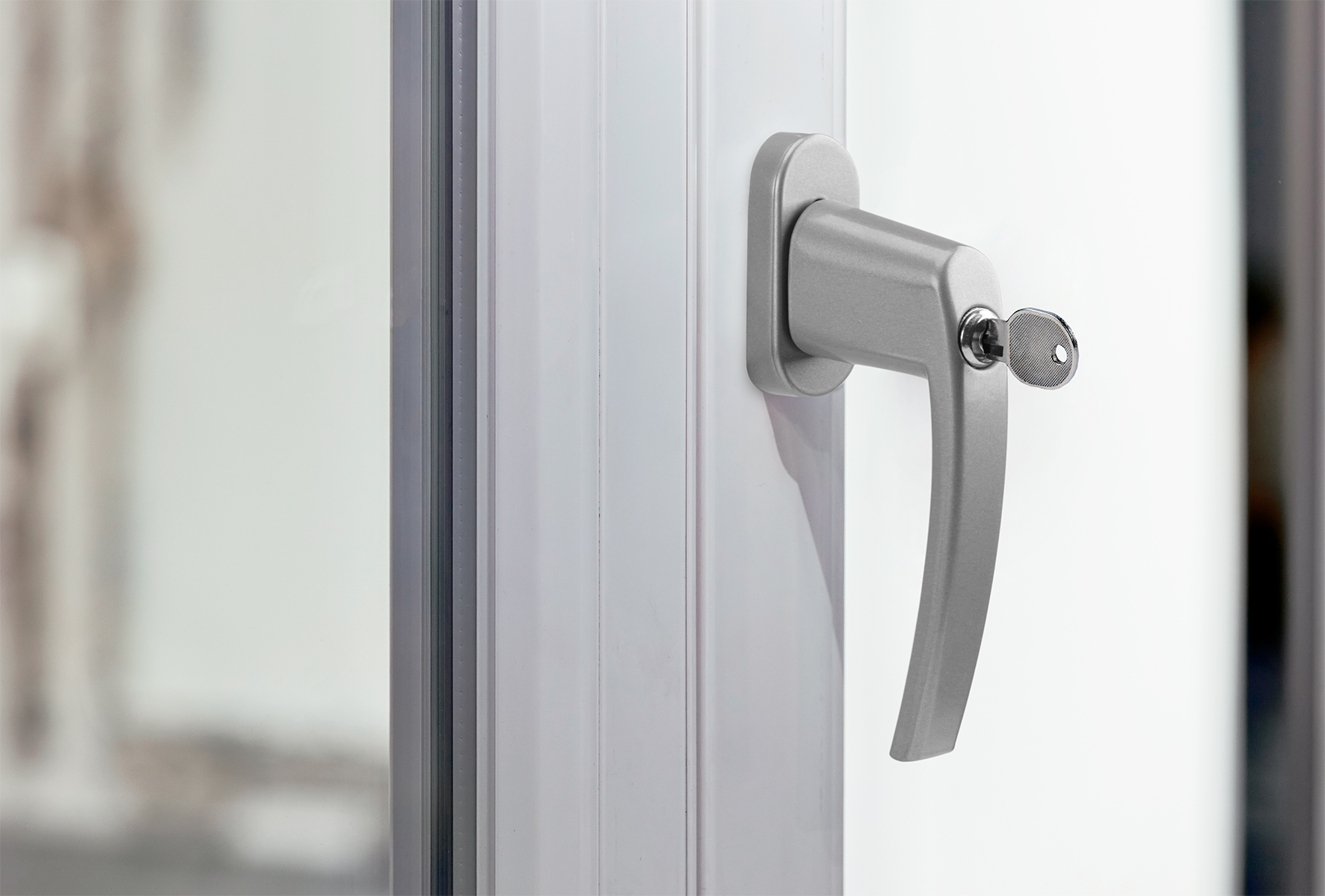 Fgs Security window handle with lock fgs 100 | olympia business systems